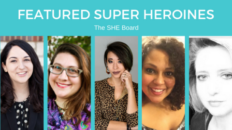 Featured Super Heroine: The SHE Board