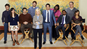full cast of Parks and Recreation